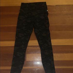 black and grey camo fabletics leggings